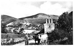 SAILLAGOUSE  =  Le Village De Llo Et L'églis    1687 - Andere Gemeenten