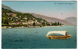 OGGEBBIO - LAGO MAGGIORE - VERBANIA - 1917 - Vedi Retro - Formato Piccolo - Vercelli