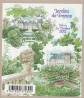 FRANCE 2012 F4580 Jardins De France Salon Du Timbre NEUF - Sheetlets