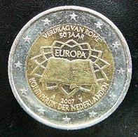 Netherlands - Pays-Bas - Nederland   2 EURO 2007  Speciale Uitgave - Commemorative  Rome - Paesi Bassi