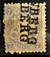 BAYERN 1870 - Canceled - Mi 25Y - 7kr - Beieren