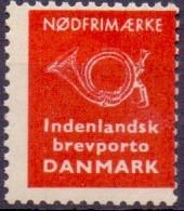 Denemarken 1963 Noodzegel PF-MNH - Probe- Und Nachdrucke