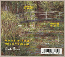 FRANCE 2010 F4479 Jardins De GIVERNY Timbre NEUF - Sheetlets