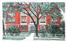 MASONIC HOME - KNIGHT TEMPLAR BUILDING  - Utica N.Y.    (Freemasonry U.S.A. Franc-Maçonnerie Ordre Templier Américain) - Monuments
