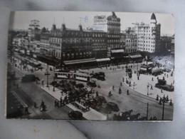 BRUXELLES : PLACE ROGIER (Nord) - ROGIERPLAATS (Noord) En 1953 - Trafic Tramways Et Automobiles - Plätze