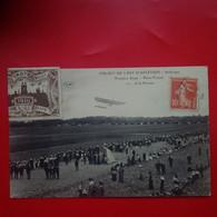 CIRCUIT DE L EST D AVIATION PREMIERE ETAPE PARIS TROYES VIGNETTE 1910 - Troyes