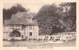 27 - FOURGES : Le Moulin ( à Eau ) CPA Village (770 Habitants) - Eure - Water Mill Wassermühle Watermolen - Andere Gemeenten