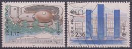 FINLANDIA 1987 Nº 985/986 USADO - Gebraucht