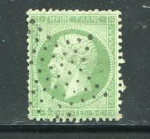 Y&T N°20 étoile De Paris Pleine - 1862 Napoleone III