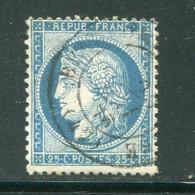 Y&T N°60C Cachet à Date - 1871-1875 Ceres