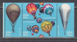USA 1983 - Aerostation, Set Of 4 Stamps, MNH** - Vereinigte Staaten