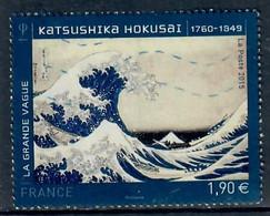 YT 4923-9 Serie Artistique  HOKASAI - Usati