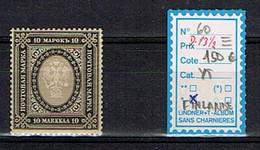 FINLANDE 10 MARK, 1901-1916, Timbre De Russie - Nuovi