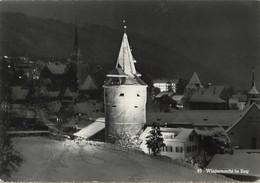 Winternacht In Zug - ZG Zoug