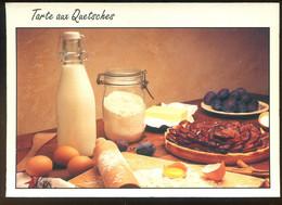 CPM Neuve Recette De Cuisine La Tarte Aux Quetsches - Recetas De Cocina
