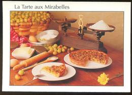 CPM Neuve Recette De Cuisine La Tarte Aux Mirabelles - Recetas De Cocina