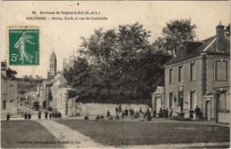 CPA Environs De NOGENT-le-ROI - COULOMBS - Mairie École Et (33354) - Autres Communes