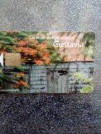 CARTE STATIONNEMENT CHIP CARD ILE ST BARTHELEMY GUSTAVIA  ANTILLES 1000EX NEUVE - PIAF Parking Cards