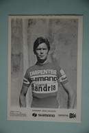 CYCLISME: CYCLISTE : JEAN JACQUES SANQUER - Cyclisme