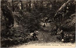 CPA La Ste-BAUME Le Canape Montee De La Grotte (987338) - Saint-Maximin-la-Sainte-Baume
