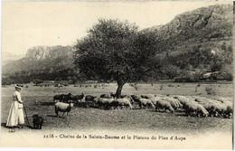 CPA Chaine De La Ste-BAUME Et Le Plateau Du Plan (987340) - Saint-Maximin-la-Sainte-Baume