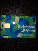 GB UK CARTE A PUCE CHIP CARD STATIONNEMENT PARKING RICHMOND NEUVE MINT - Ausstellungskarten