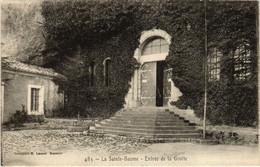 CPA La Ste-BAUME Entree De La Grotte (987342) - Saint-Maximin-la-Sainte-Baume