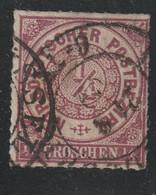 NDP / 1868 / Mi. 1 Gestempelt (B848) - Conf. De L' All. Du Nord