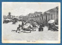 TERMOLI SPIAGGIA VG. 1947 CAMPOBASSO N°A145 - Campobasso