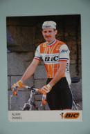 CYCLISME: CYCLISTE : ALAIN DANIEL - Cyclisme