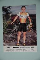 CYCLISME: CYCLISTE : MIGUEL MARTINEZ - Cyclisme