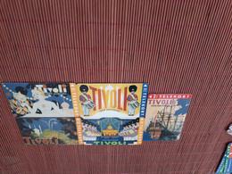 Set 5 Phonecards Danmark Tivoli (Mint,Neuve)  Rare - Dänemark