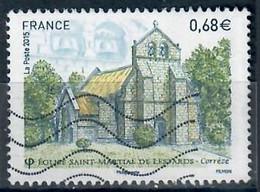 YT 4967-2  Eglise St Martial Le Lestards - Usati