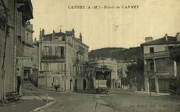 TRES RARE Le Cannet ( 06 ) - Entrée Du Cannet - Lib. Mayan édit  Alpes Maritimes TRAM TRAMWAY TRAMVIA - Le Cannet