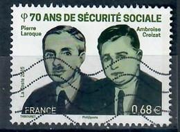 YT 4981-5 70 Ans De Sécurité Sociale - Usati