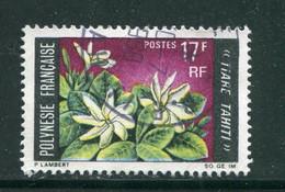 POLYNESIE- Y&T N°65- Oblitéré (fleurs) - Polinesia Francese