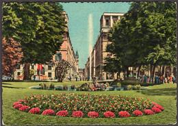 Italia - Circa 1960 - Cartolina Postale - Torino - Giardino Di Piazza Carlo Felice E Via Roma - Non Circolato - A1RR2 - Places