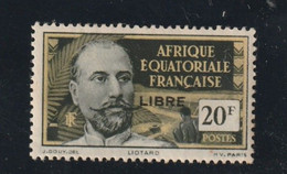 AEF N° 127 Sans Charniére **gomme Trés Peu Lustrée Par Une Pochette Ancienne Génération - Nuovi