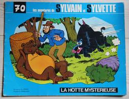 BD Les Aventures De Sylvain Et Sylvette Album N°70 De 1975 La Hotte Mystérieuse Dessins De J. L. Pesch - Sylvain Et Sylvette