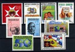 República Dominicana Nº 1374, 1392/6, 1399, 1403, 1408. Año 1999 - República Dominicana