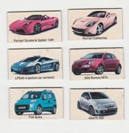 Fridge Magnets Koelkast-magneet TOP GEAR Fiat-ferrari-alfa Romeo-abarth-lamborghini - Trasporti