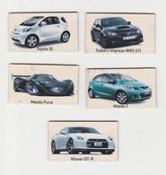 Fridge Magnets Koelkast-magneet TOP GEAR Mazda-toyota-nissan-subaru - Trasporti