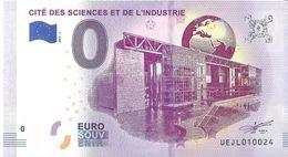 BS-11 - PARIS - Cité Des Sciences Et De L'Industrie 2019-1 - EURO