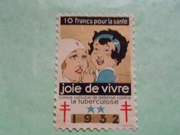 TC26 / ANTITUBERCULEUX / TUBERCULOSE Grande Vignette 10 Frs ; 1932  Neuf ** - Antituberculeux