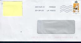 ENV93 De La Série Lapins Cretins Cette Enveloppe - Usati