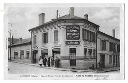 CORMICY   Café De L'Etoile  Grande Rue Et Rue Des Combattants   (recto-verso) - Frankrijk