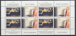 Europa Cept 1995 Slovenia 2v  Sheetlet ** Mnh (50560) K.O. PRICE - Europa-CEPT