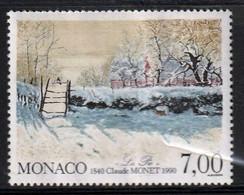 MONACO - La Pie De Claude Monet, Peinture Impressionniste - Y&T N° 1747 - 1990 - Ungebraucht