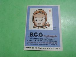 TC26 / ANTITUBERCULEUX / TUBERCULOSE Carnet 1966/67 Neuf ** - Tegen Tuberculose