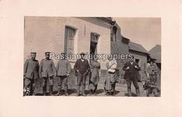 CARTE PHOTO ALLEMANDE   WIEGE FATY 1915 - Other Municipalities